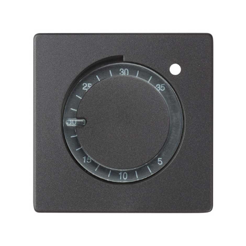 Placa para termostato de calefacci n grafito simon 82 simon - Placas ceramicas calefaccion ...