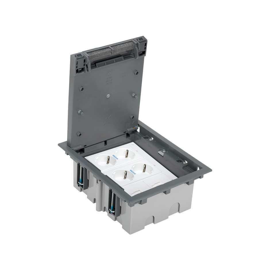 Kit caja de suelo regulable para suelo t cnico 6 elementos - Suelos tecnicos precios ...