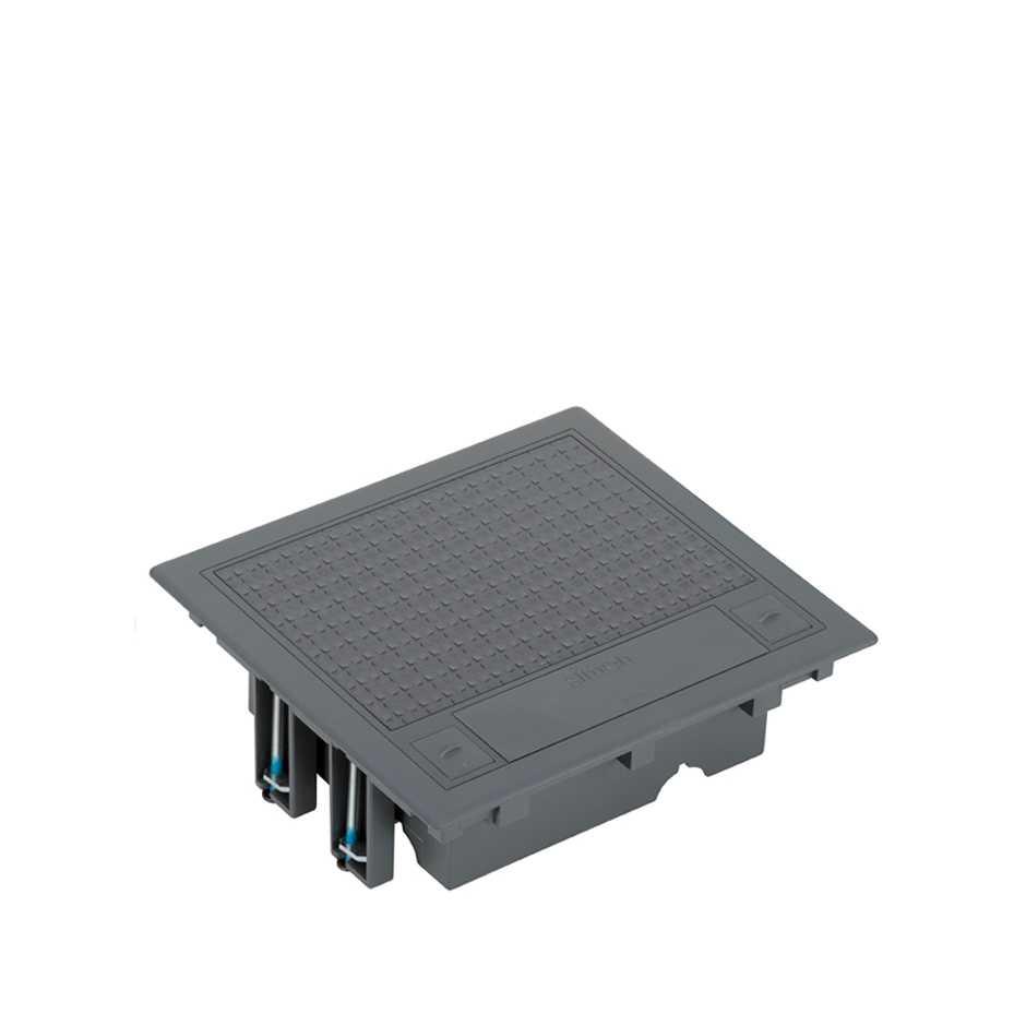 Tapa de registro de 4 elementos para instalaci n en suelo - Suelos tecnicos precios ...
