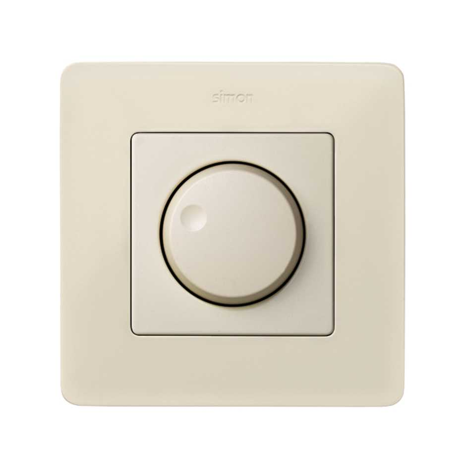 Rotary Dimmer Switch 40 To 300w Va Simon 2 Way Flush Function Solucion Regulador De Luz Giratorio Marfil 82