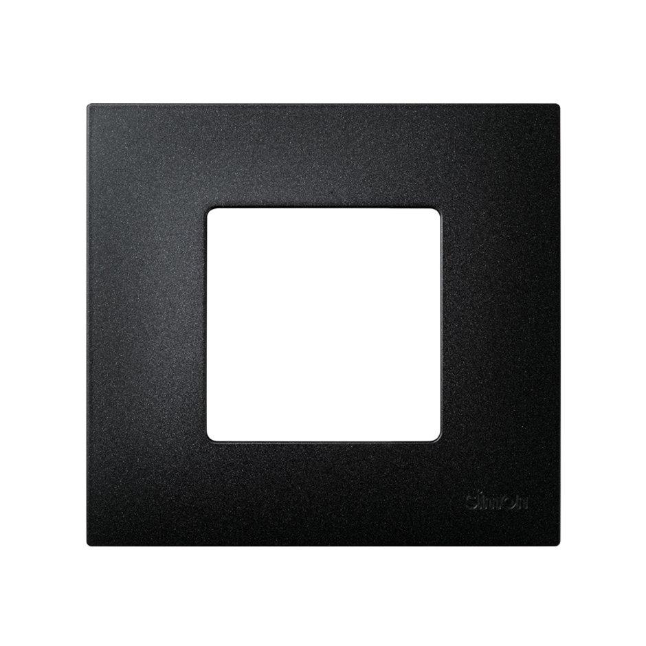 Funda intercambiable para marco 1 elemento negro artic Simon 27 Play ...
