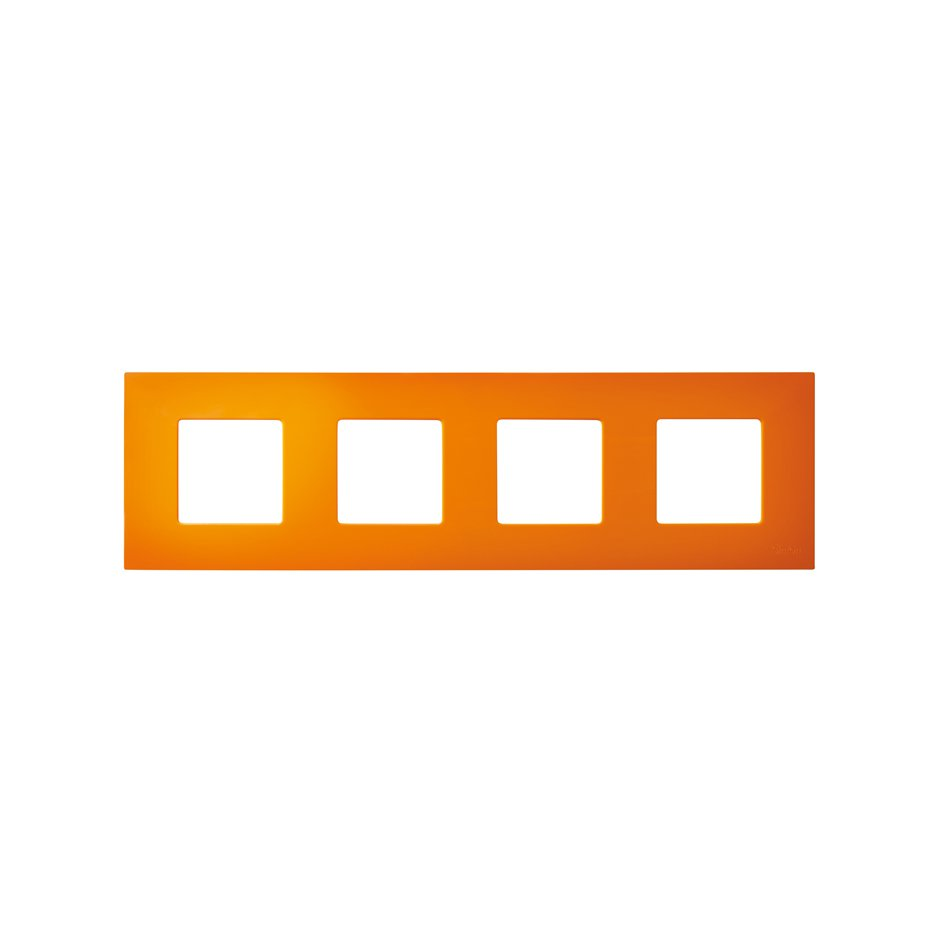 Interchangeable case for 4 elements frame orange Simon 27 Play | SIMON