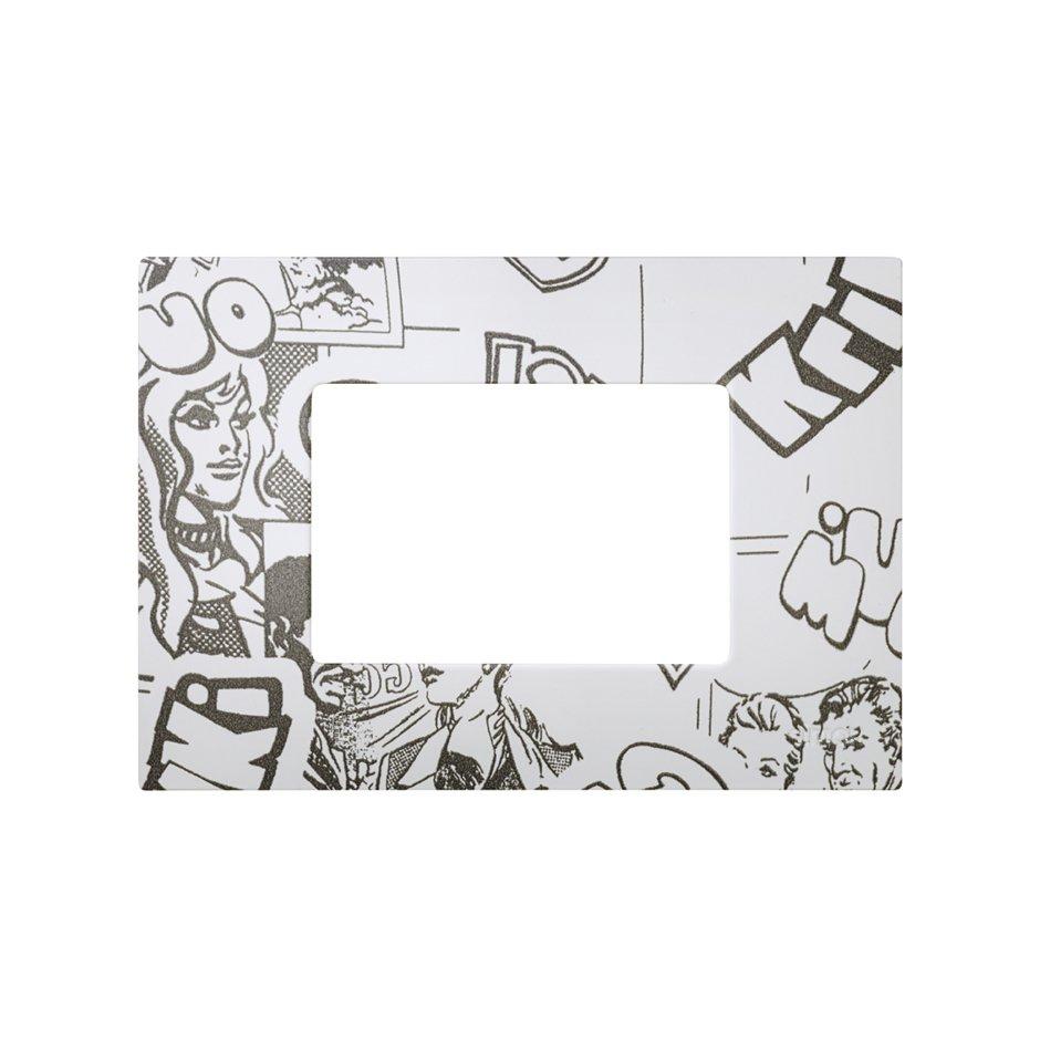 Interchangeable case for 3 half elements American frame comic Simon ...
