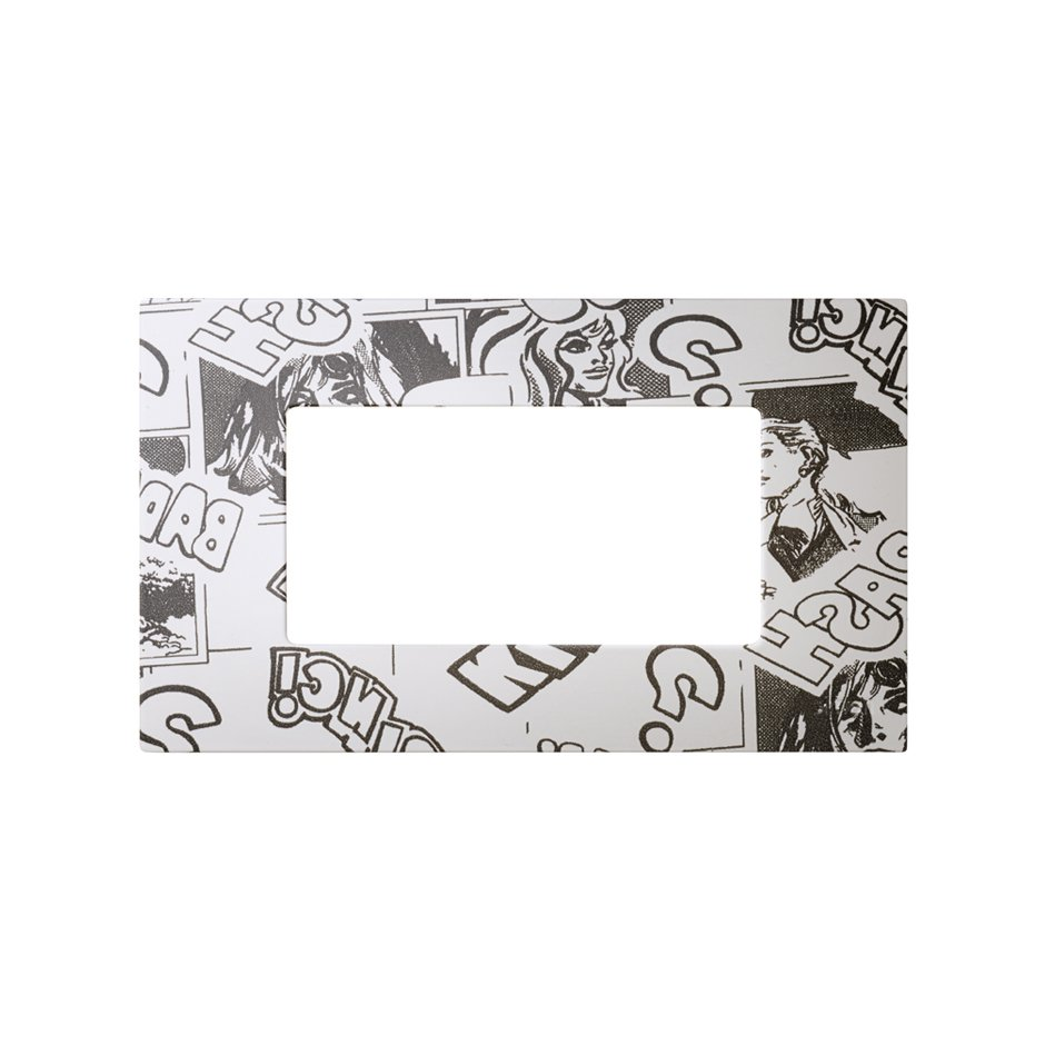 Interchangeable case for 4 half elements (2 elements) American frame ...
