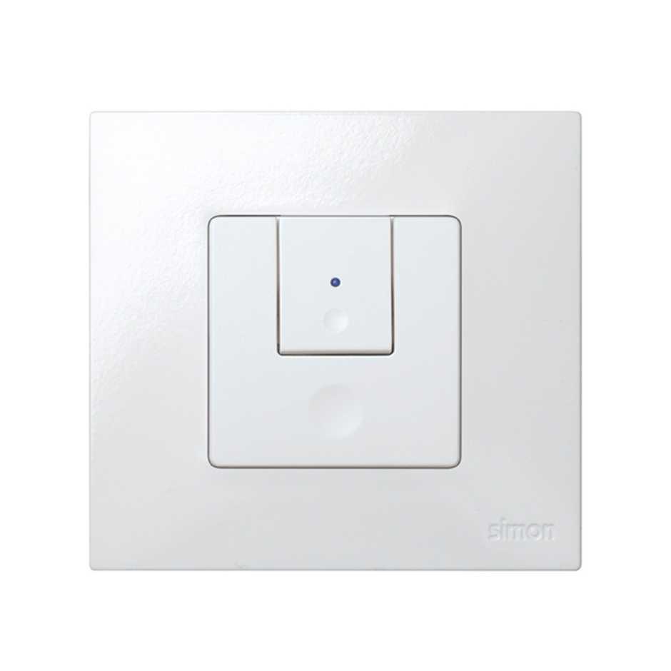 Double Rocker For 2 Way Switch Light Levels White Simon 27 Play Electrical Solucion Conmutador Niveles Luz Blanco