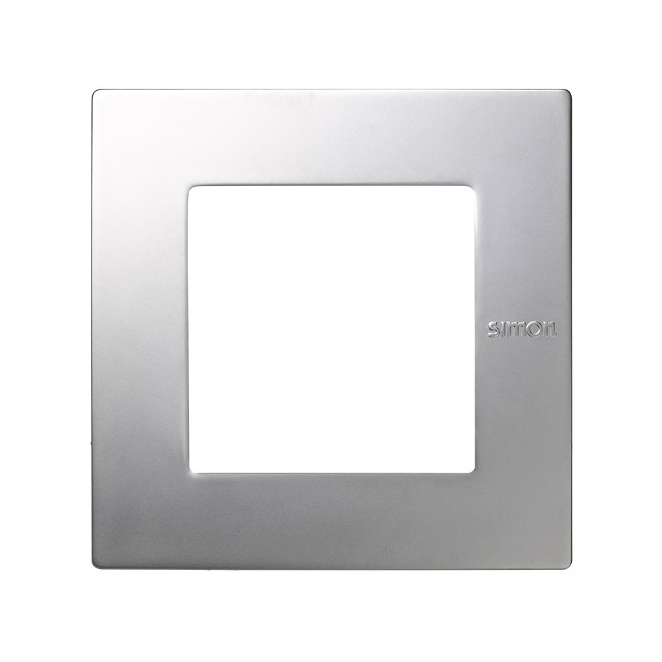 Frame for 1 element aluminium Simon 27 Scudo   SIMON