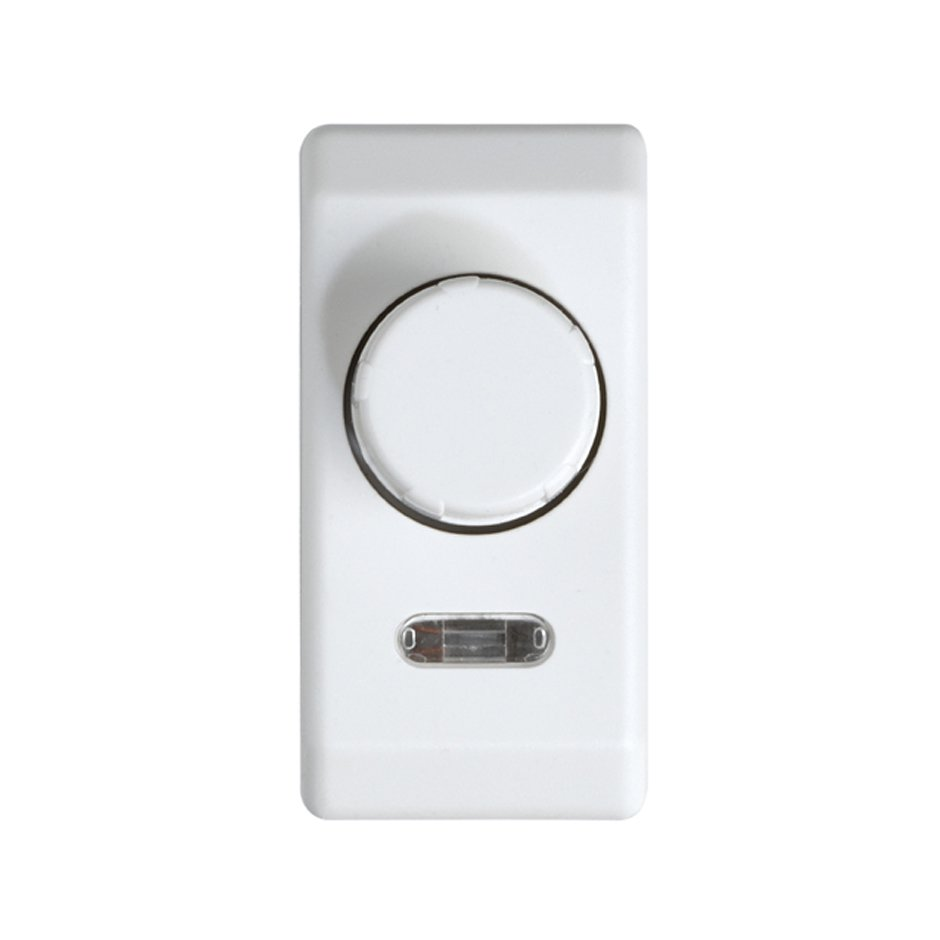 2-way rotary dimmer switch for half element 40 to 500W/VA white ...