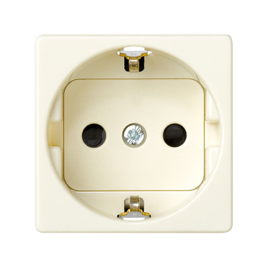 German Socket Outlet 16a 250v With Safety Device And Screw Terminal How To Wire Electrical Outlets In Series 27472 62 Base Enchufe Schuko 16 A