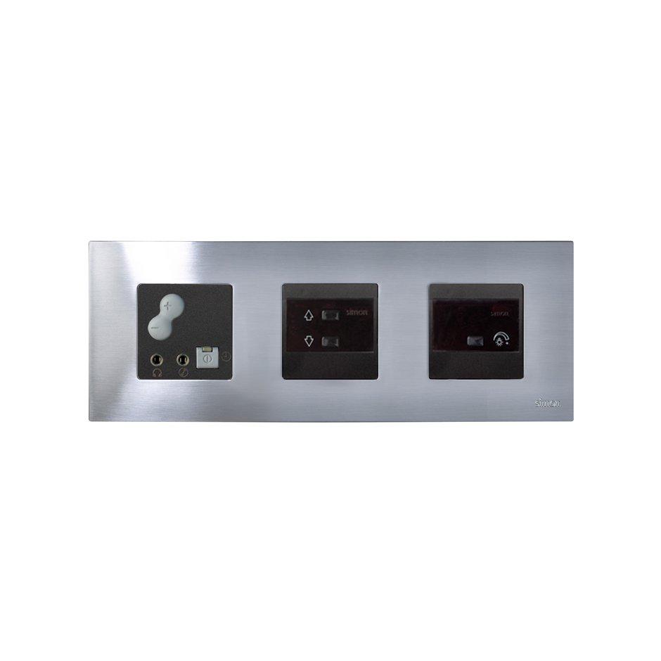 1-channel digital control, IR blind mechanism, graphite ...