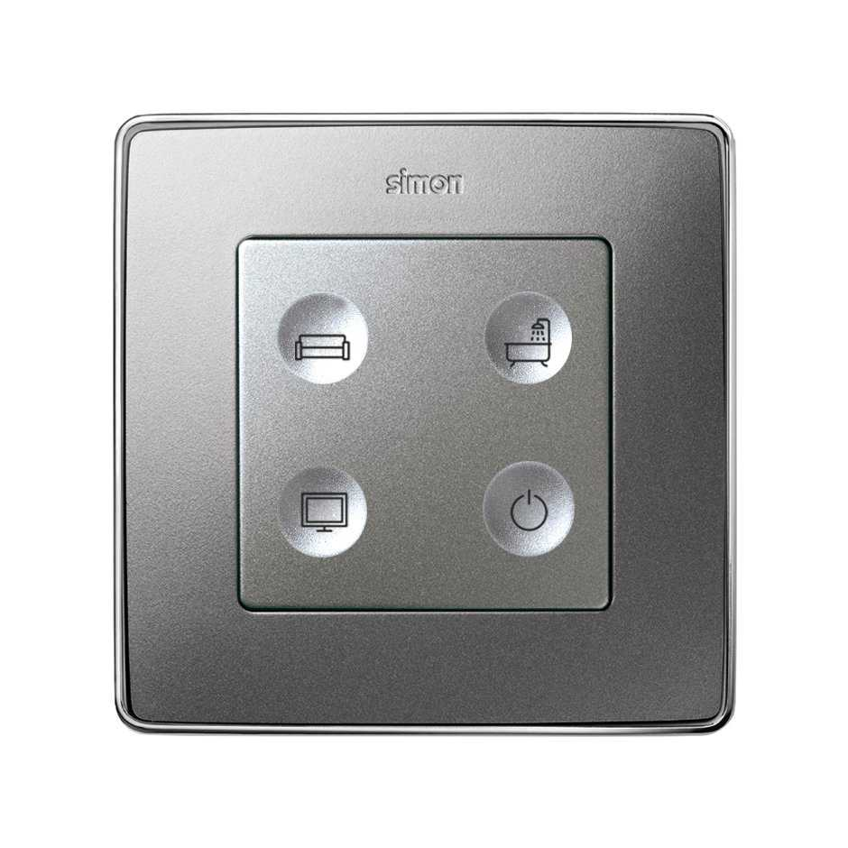 Custom button box 4 functions for lighting control in homes and ...