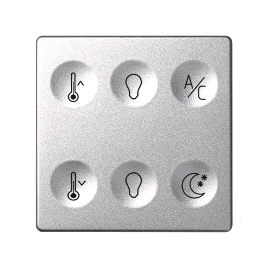 Custom button box 6 functions for lighting and temperature control ...