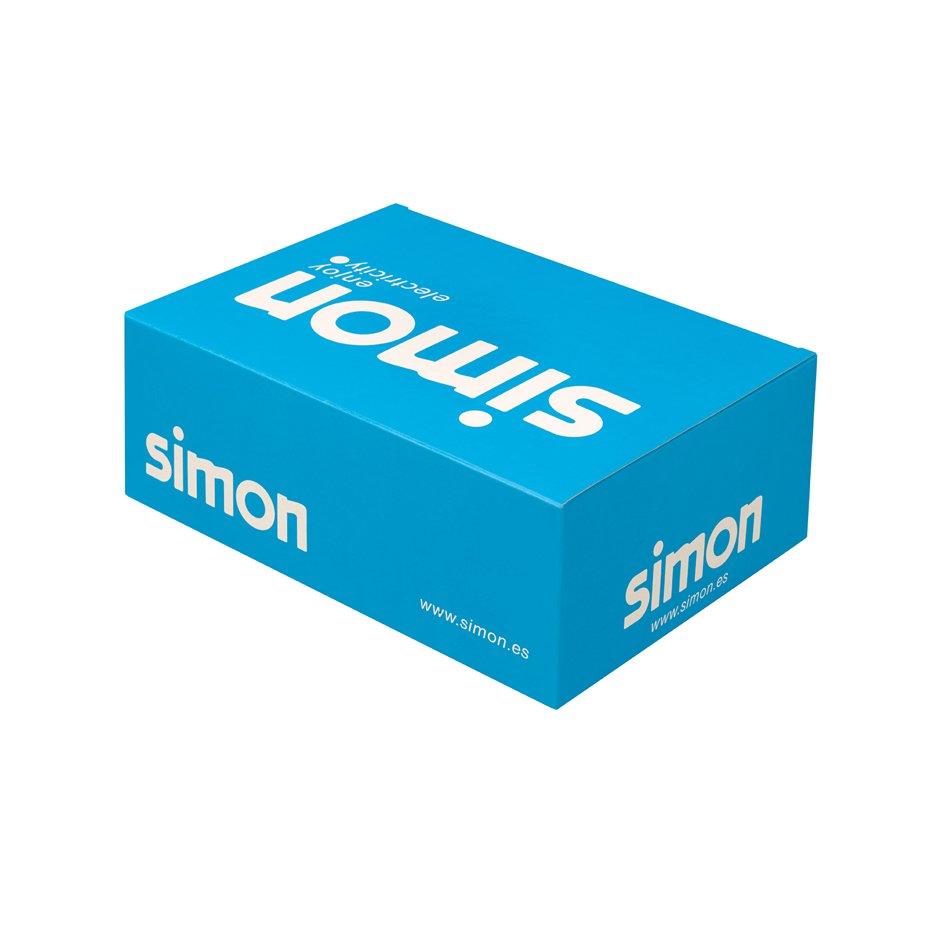 Simon 31621-31 Marco 2 elementos 31621-31