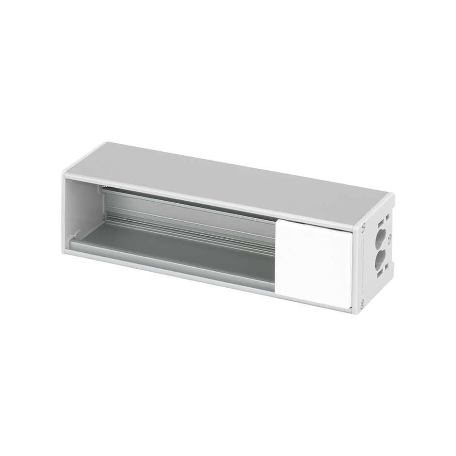 3 Blanco Compact K45 Ofiblock De Aluminio Elementos Perfil Simon CBoexdrW