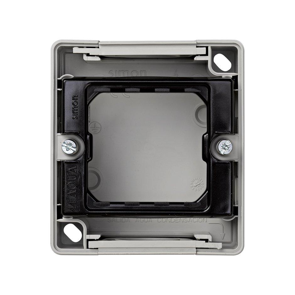 Base Caja Estanca Gris 1 Elemento S.44 Aqua Simon 4400751-035
