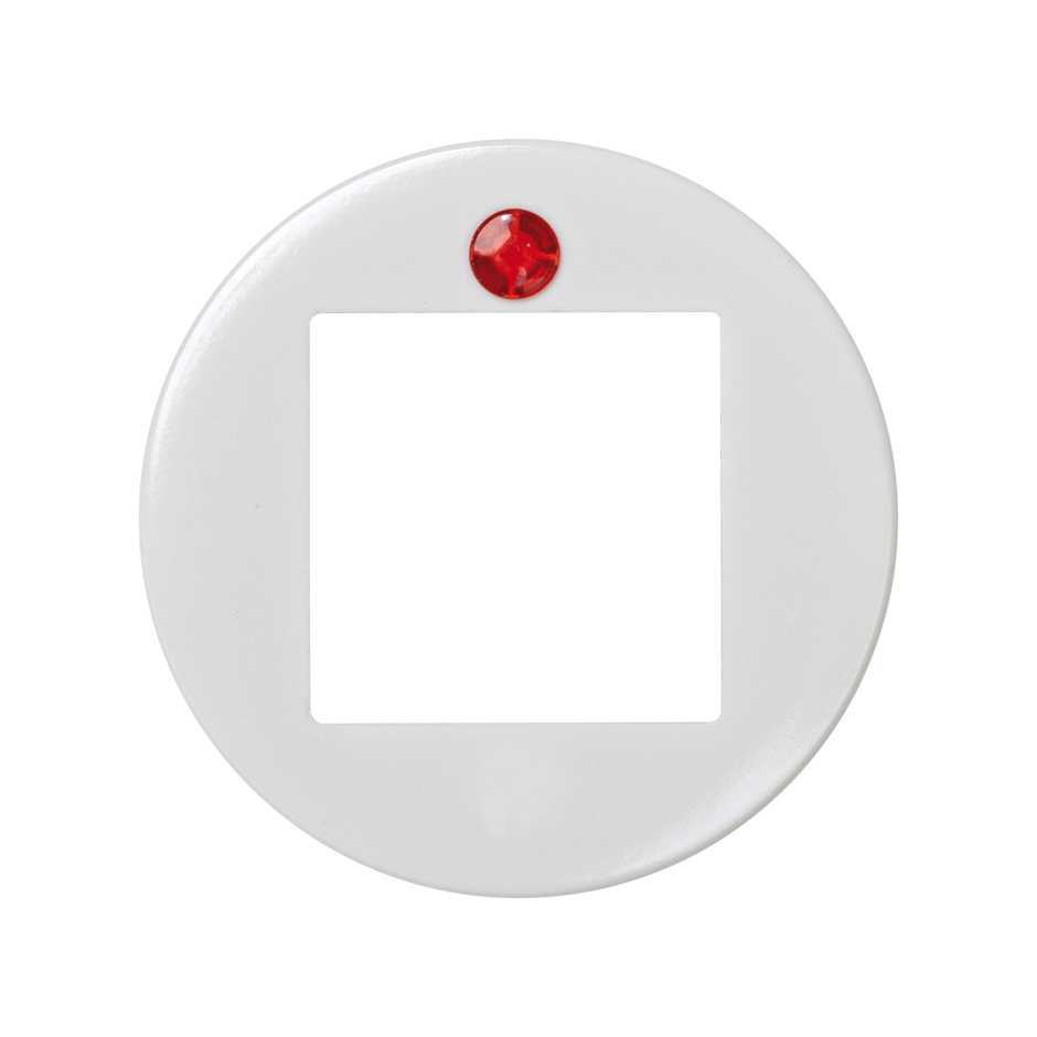 bc3ee936893d 32614-35-suplemento-abertura-central-cuadrada-visor-rojo-. Additional  central opening and red viewer square Simon 32 white ...