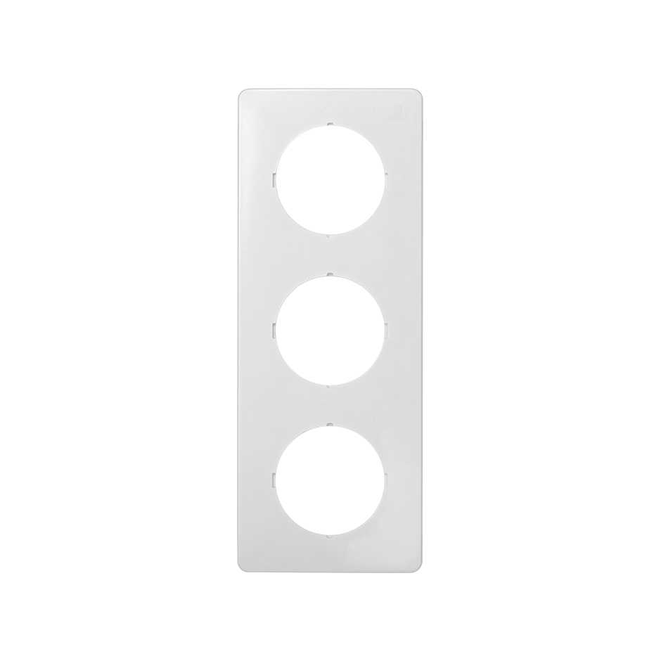 Marco protector para 3 elementos con aberturas centrales circulares ...