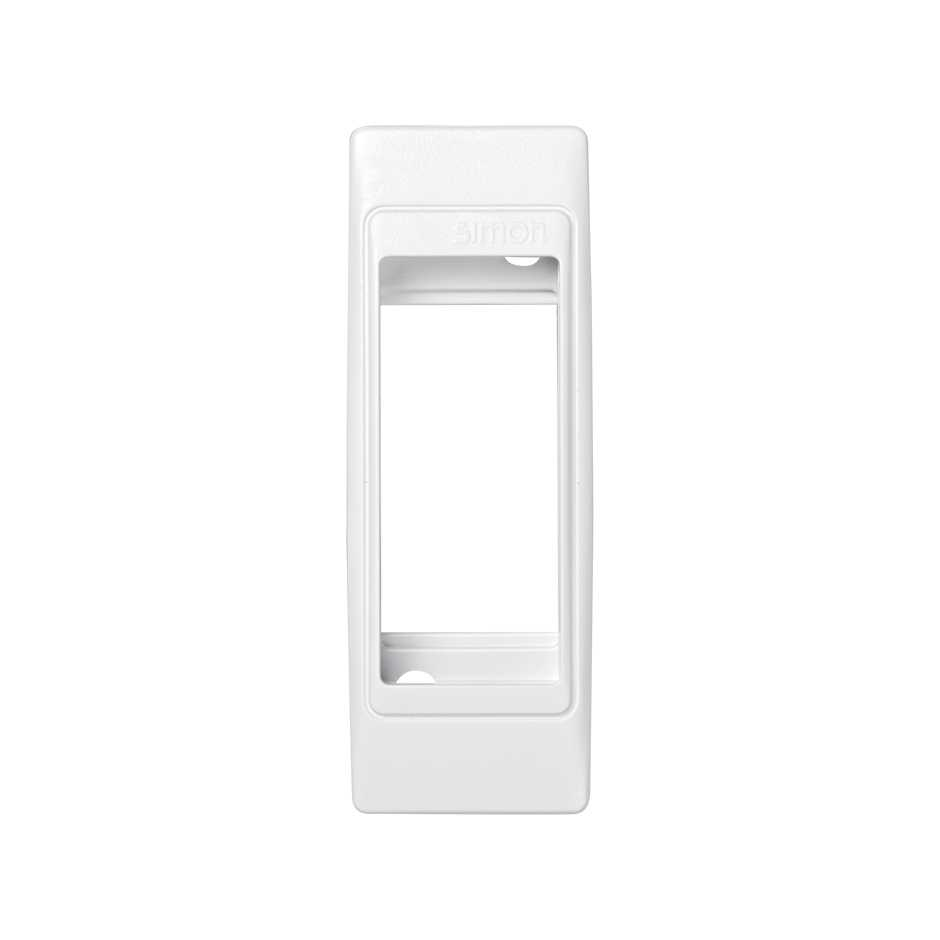 Frame for small spaces 1 half element white with frame holder Simon