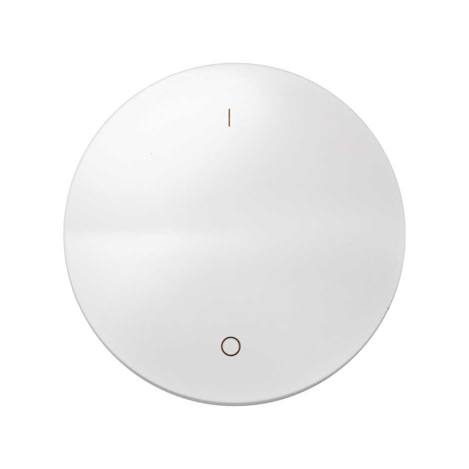 Single Rocker For Double Pole Switch With Io Symbol White Simon 88