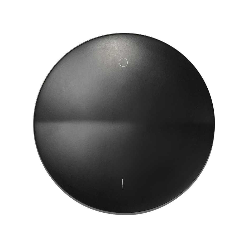 Single Rocker For Double Pole Switch With Io Symbol Graphite Simon