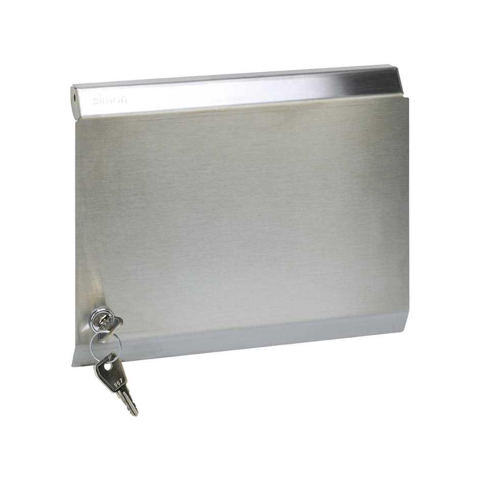 Tapa metálica para marco de pared metálico de superficie o empotrar ...