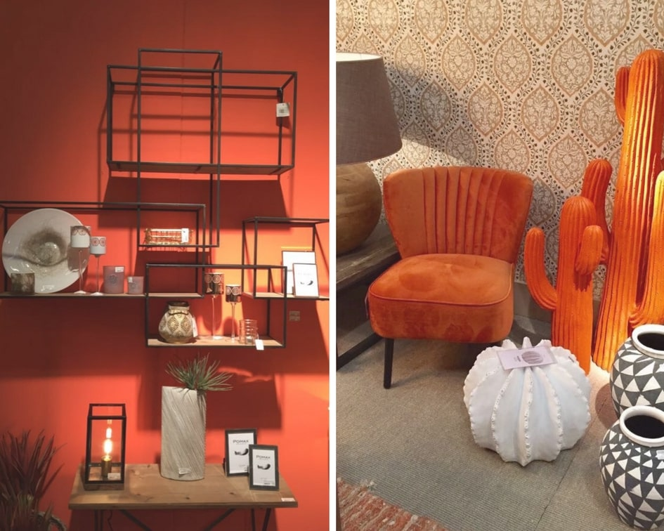 decoration interieur orange simon