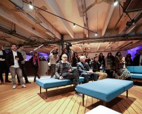Evento de presentación del Pop-up workplace Intersections